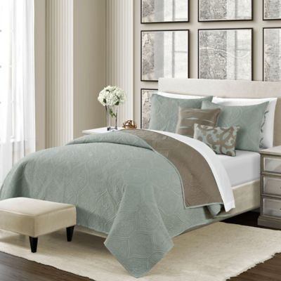 Camber Reversible Quilt Set  Bed Bath  Beyond