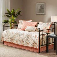Madison Park Tissa Daybed Set in Ivory - Bed Bath & Beyond