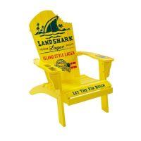 Margaritaville Landshark Adirondack Chair in Yellow - Bed ...