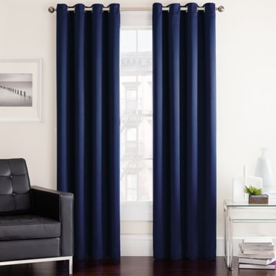 living room window curtains ideas for end tables twilight darkening grommet curtain panel - bed ...