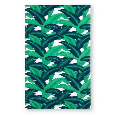 Palm Leaves Beach Towel In Green Bed Bath Amp Beyond