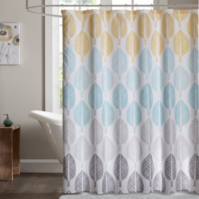 Madison Park Essentials Central Park 72Inch Shower Curtain  Bed Bath  Beyond