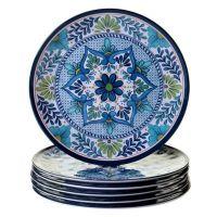 Certified International Talavera Dinner Plates (Set of 6 ...
