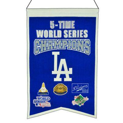 Mlb Los Angeles Dodgers 5x World Series Championship