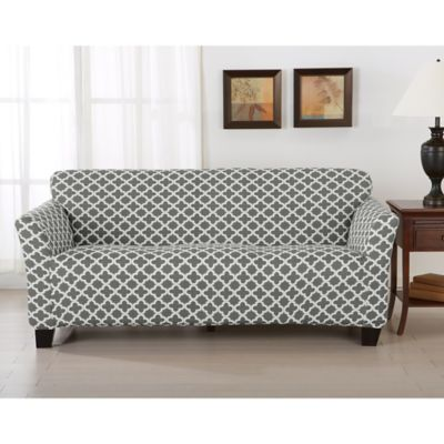 Great Bay Home Brenna Strapless Sofa Slipcover  Bed Bath  Beyond