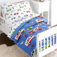Olive Kids Heroes 4-Piece Toddler Bedding Set in Blue ...