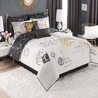 Paris Gold Comforter Set - Bed Bath & Beyond