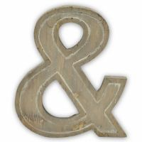 Ampersand Metal Wall Art