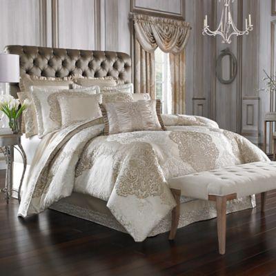 J Queen New York La Scala Comforter Set  Bed Bath  Beyond