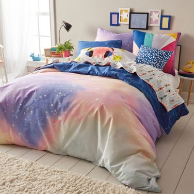new kitchen decorating ideas suites home depot scribble twilight reversible comforter set in peach/navy ...