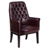 Flash Furniture High Back Tufted Leather Office Chair ...