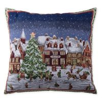 Buy Make-Your-Own-Pillow Framed Village Square Throw ...