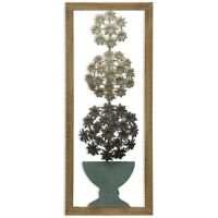 Buy Stylecraft Metal Topiary Wall Art from Bed Bath & Beyond