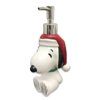 Peanuts Holiday Lotion Dispenser  Bed Bath  Beyond