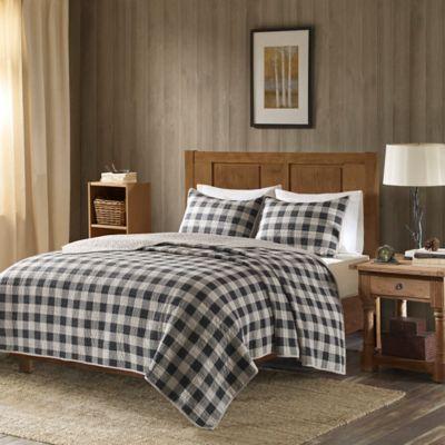 Woolrich Buffalo Check Oversized Quilt Set  Bed Bath