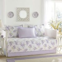 Laura Ashley Keighley Daybed Set in Purple - Bed Bath ...