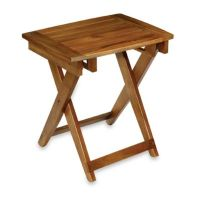Conair Teak Folding Shower Seat - Bed Bath & Beyond