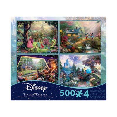 Buy Ceaco Thomas Kinkade Disney Dreams 4 In 1 Jigsaw