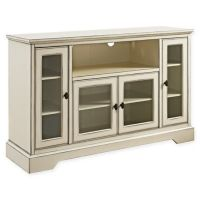 Walker Edison 52-Inch Highboy Style Wood TV Stand in ...