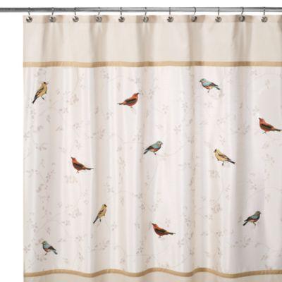 Avanti Gilded Birds 70 Inch X 72 Inch Shower Curtain Bed Bath Amp Beyond