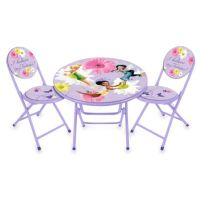 Buy Disney Fairies Table and Chairs Set from Bed Bath ...