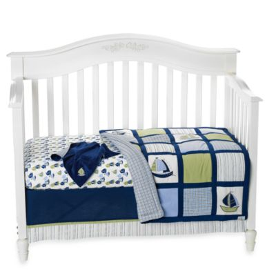 Nautica Crib Bedding Whale