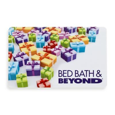 Multi Color Presents Gift Card Bed Bath Beyond