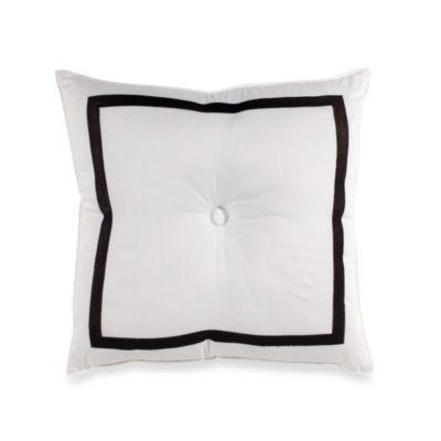 Trina Turk Button Square Throw Pillow