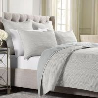 Wamsutta Serenity Coverlet in Silver - Bed Bath & Beyond