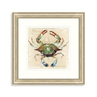Buy Watercolor Crab Framed Wall Art from Bed Bath & Beyond