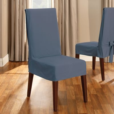 Sure Fit Duck Supreme Cotton Short Dining Room Chair