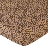 Sweet Jojo Designs Cheetah Girl Crib Sheet in Cheetah ...