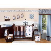 Sweet Jojo Designs Starry Night 11-Piece Crib Bedding Set ...