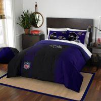 NFL Baltimore Ravens Embroidered Comforter Set - Bed Bath ...