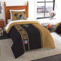 Buy NFL New Orleans Saints Twin Embroidered Comforter Set ...
