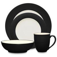 Noritake Colorwave Rim Dinnerware Collection in Graphite ...