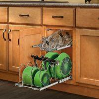 Rev-A-Shelf 2-Tier Cookware Organizer - Bed Bath & Beyond