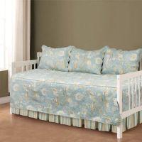 Natural Shells Daybed Bedding Set in Blue/Beige - Bed Bath ...