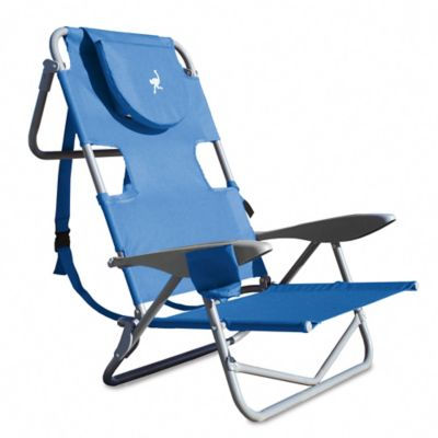 OstrichOnYourBack Reclining Beach Chair  Bed Bath  Beyond
