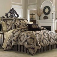 J. Queen New York Onyx Comforter Set - Bed Bath & Beyond
