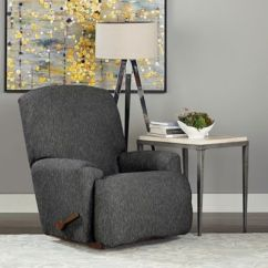 Sure Fit Chair Covers Bed Bath And Beyond Swing Big W Fit® Designer Denim 1-piece Recliner Slipcover - &