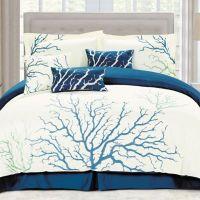 Panama Jack Coral Comforter Set in Blue - Bed Bath & Beyond