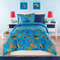 Under the Sea Reversible Comforter Set - Bed Bath & Beyond