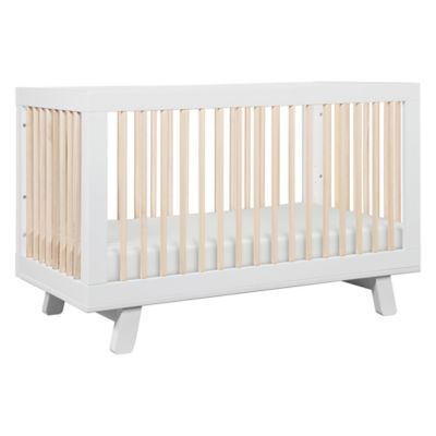 Babyletto Hudson 3in1 Convertible Crib in WhiteWashed