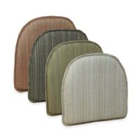 Klear Vu Essentials Harmony Gripper Chair Pad - Bed Bath ...