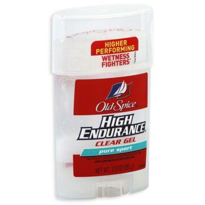 Old Spice High Endurance 3 Oz Clear Gel Anti Perspirant