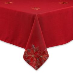 Chair Seat Covers Bed Bath And Beyond Painting Metal Chairs With Rustoleum Christmas Linens - Tablecloth, Placemats & Napkins |