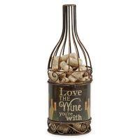 Metal Wine Bottle Cork Holder - Bed Bath & Beyond