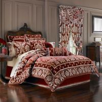 J. Queen New York Dynasty Comforter Set in Red - Bed Bath ...
