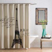 Anthology Paris Cotton Shower Curtain - Bed Bath & Beyond